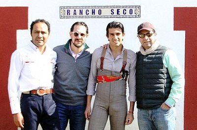 Angelino y «Calita» en Rancho Seco