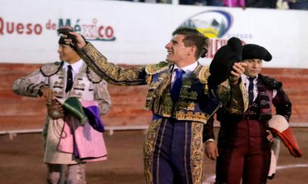 Maxime Solera se presenta en cosos mexicanos