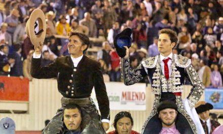 Rotundo triunfo de Ventura y Saldívar en Moroléon