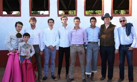 Tienta en la ganadería de Pablo Moreno