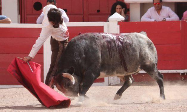 Gerardo Adame lidió y mató un toro de San Isidro