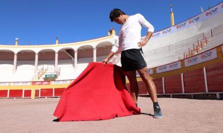 Leo Valadez con gran ánimo y motivación