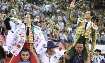 Triunfal tarde de Joselito y Silveti