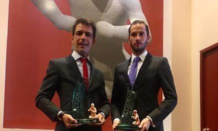 Arturo Macías y Arturo Saldívar reciben el Luchador Olmeca 2018