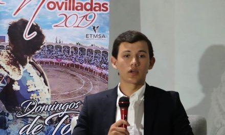 Miguel Aguilar viene con el ánimo en todo lo alto