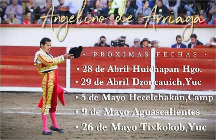 Angelino de Arriaga suma fechas