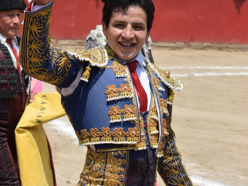 Oreja para el colombiano Eduardo Soriano