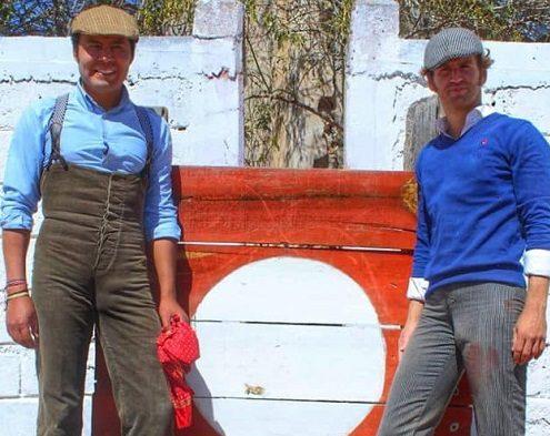 """Angelino y """"El Payo"""" en plena preparación"""
