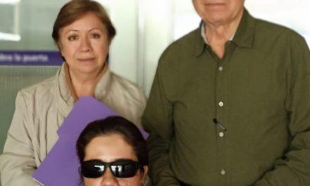 Hilda Tenorio recibe el alta médica