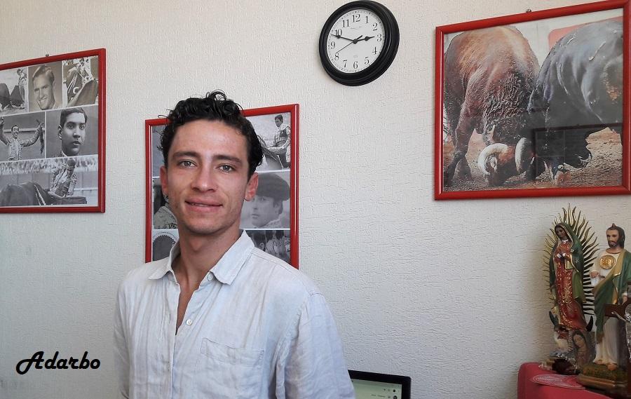 Antonio Mendoza viene a la feria con ilusión