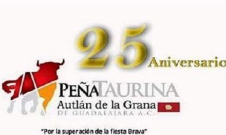 La Peña  «Autlán de la Grana» festeja su XXV aniversario