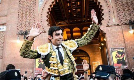 Perera abrió su sexta Puerta Grande