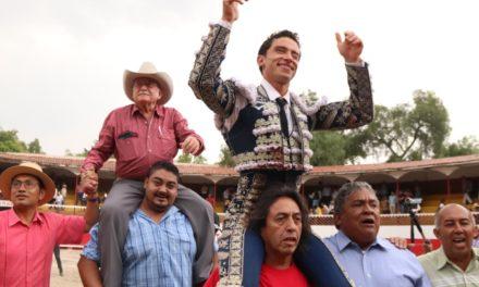 Antonio Mendoza triunfador de La Florecita