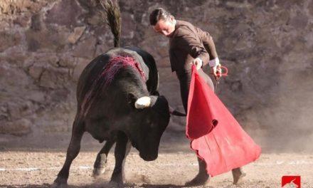Juan Pablo Llaguno cortó las dos orejas