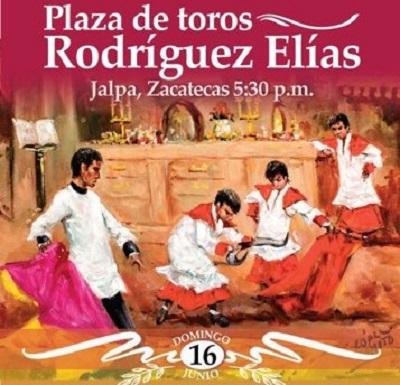 Novillada en Jalpa,  Zacatecas