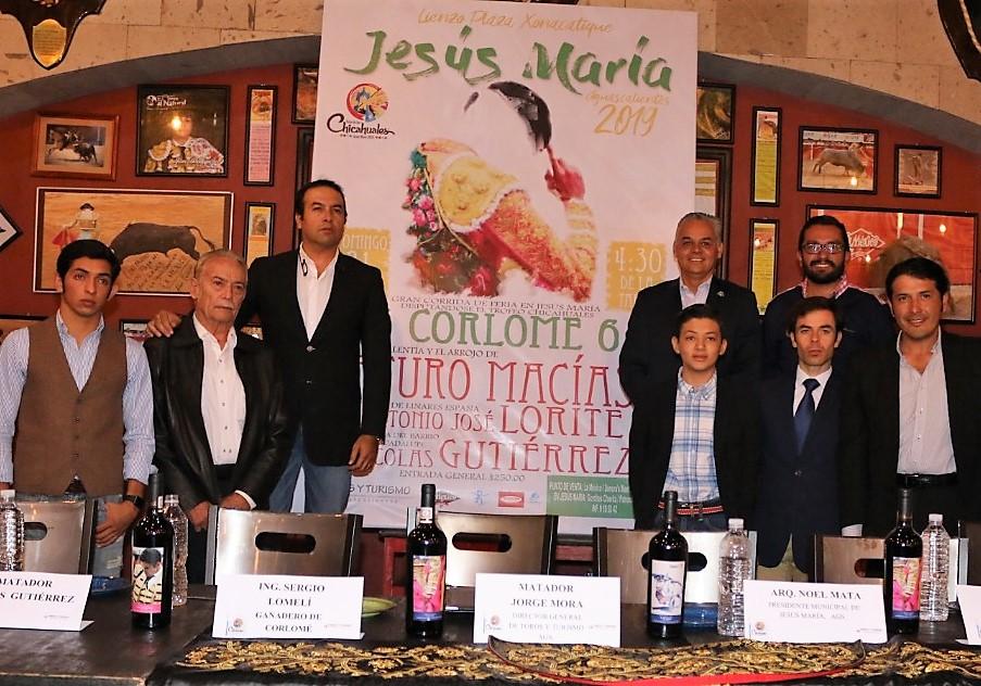 Jesús María tendrá plaza de toros