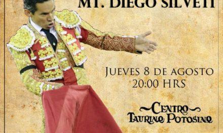 Diego Silveti recibirá galadón como triunfador de la FENAPO 2018