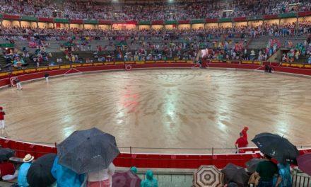 Suspenden por lluvia la cuarta corrida