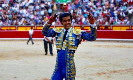 Gran tarde de Diego San Román en Pamplona