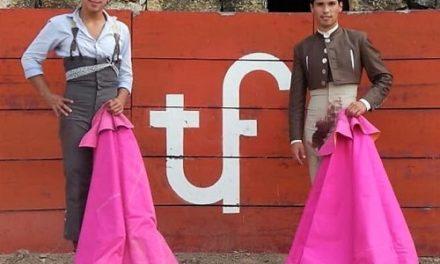 Martínez y Valadez en la dehesa de El Garambullo