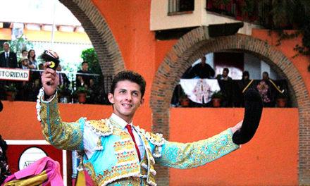 El novillero Cristian Antar se presenta en Perú