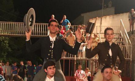 Iñaki González corta dos orejas en  Illana