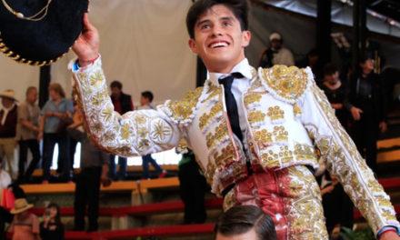 Sebastián Ibelles corta dos orejas en Arroyo