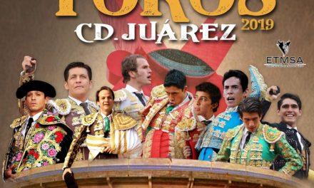 Anuncian tres corridas en Ciudad Juárez