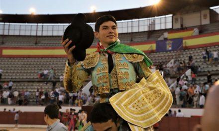Isaac Fonseca corta las orejas en Navacerrada