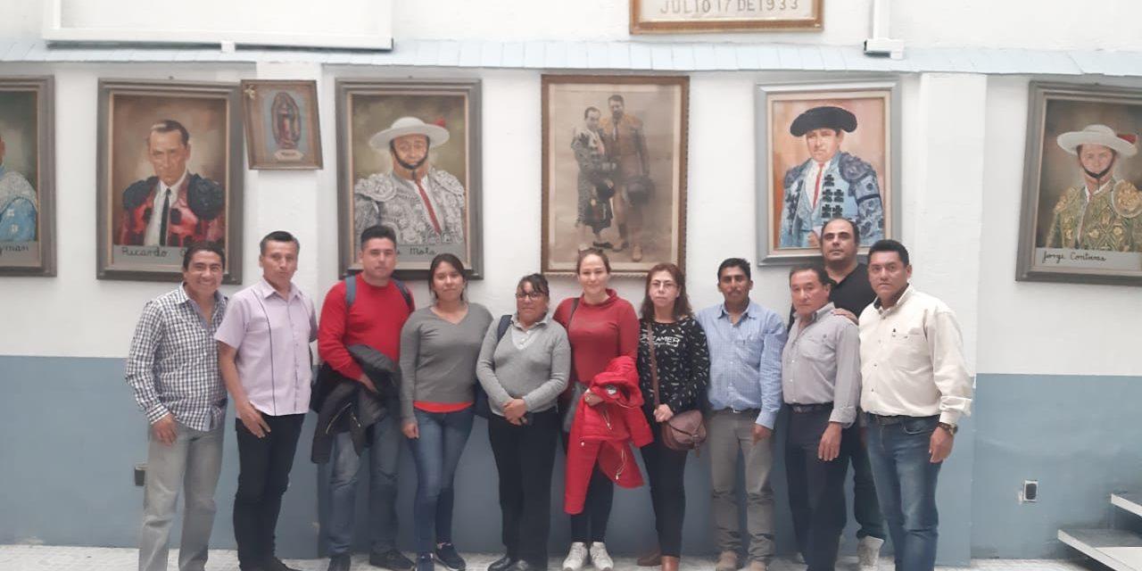 LA UMPyB agradece la presencia del Comité de Texcatepec