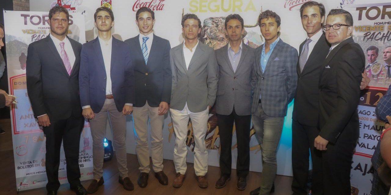 Presentan las corridas de feria en Pachuca