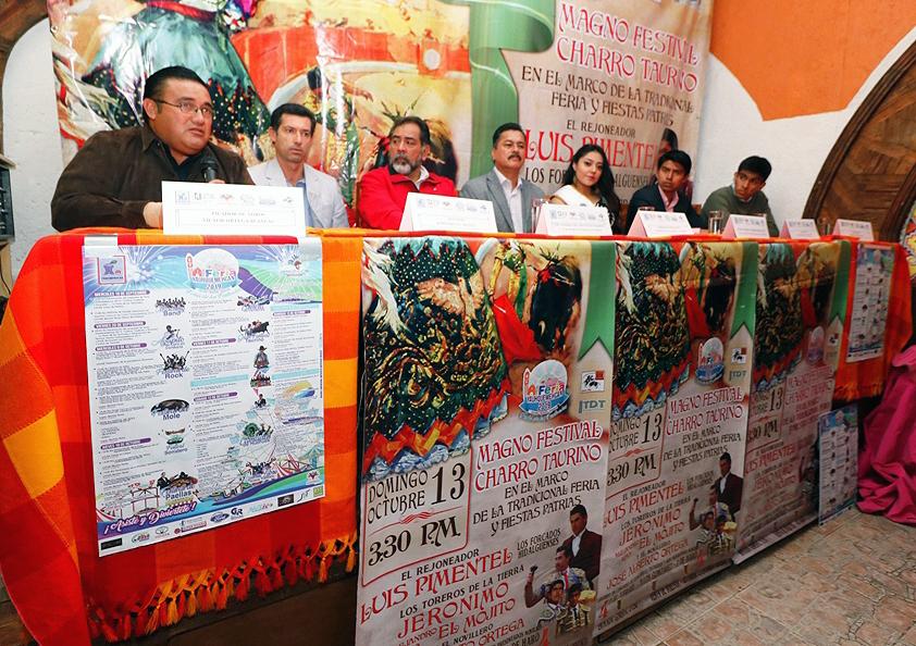 Presentan festival charro-taurino en Yauhquemecan