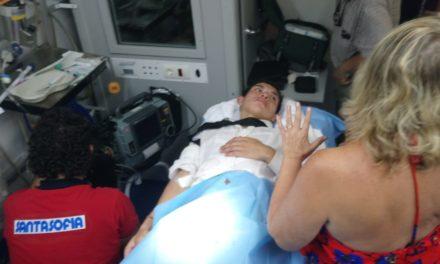 Isaac Fonseca sufre puntazo en Navalcarnero
