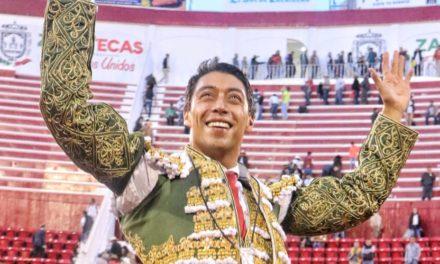 Triunfo y «Escapulario» para Sergio Flores  en Zacatecas