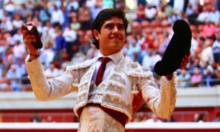 Oreja para Luis David en Logroño