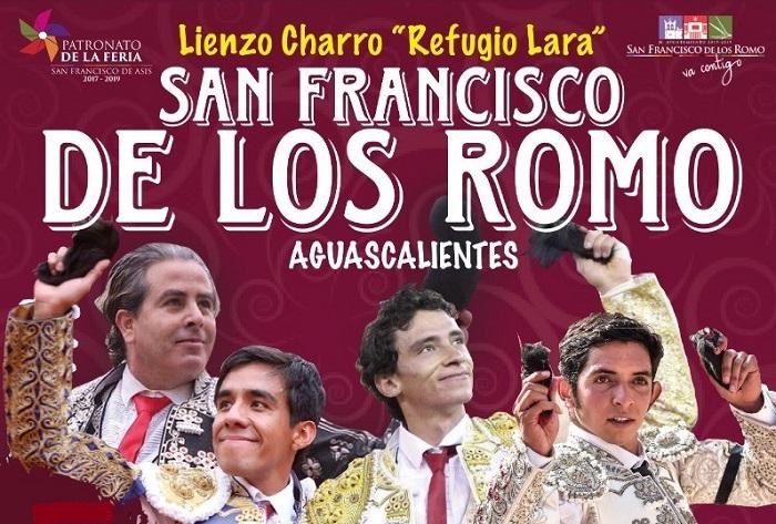 Corrida en San Francisco de los Romo