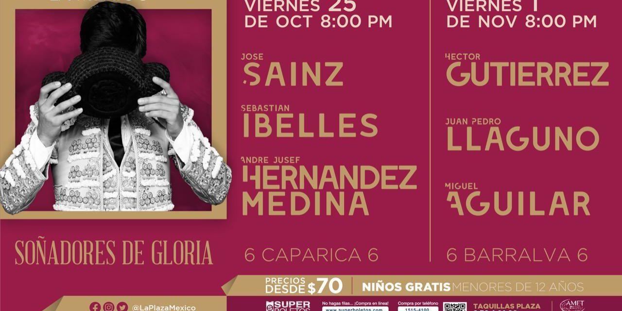 Anuncian las dos próximas novilladas en la México