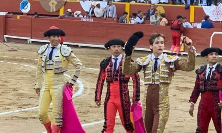 Arturo Gilio cortó oreja en Lima