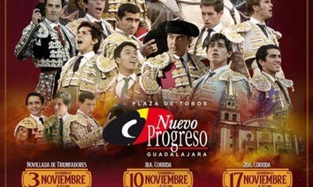 Cuatro corridas y una novillada en El Nuevo Progreso