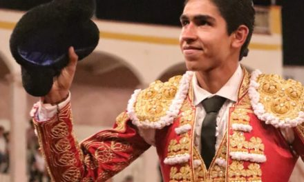 Sale a hombros Héctor Gutiérrez en la «San Marcos»