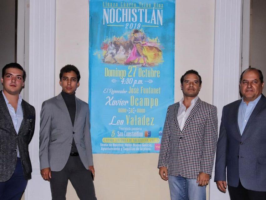 Anuncian corrida en Nochistlán