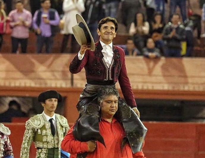 Salida a hombros de Diego Ventura en San Luis Potosí