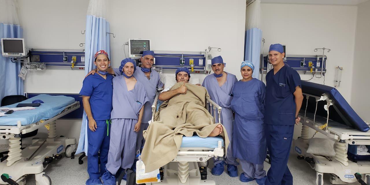 Cornada grave del forcado Jorge Luis Solorio