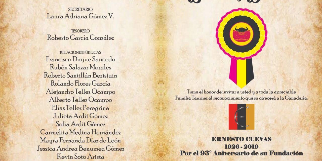 Rendirán  homenaje a la  ganadería de Ernesto Cuevas