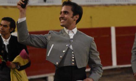 José Mauricio cortó el único apéndice en el festival de Aguas