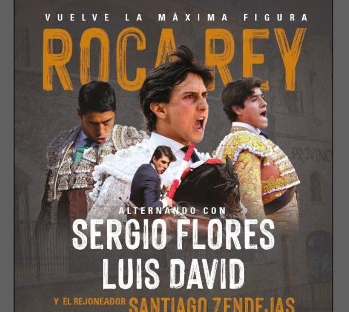 Roca Rey encabeza el cartel en Juriquilla