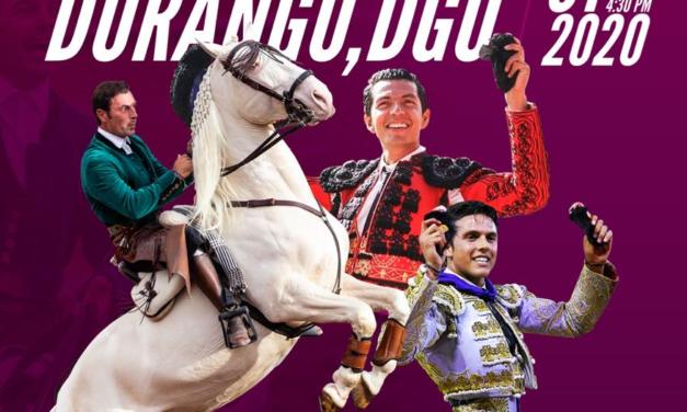 Anuncian corrida de  Año Nuevo en Durango
