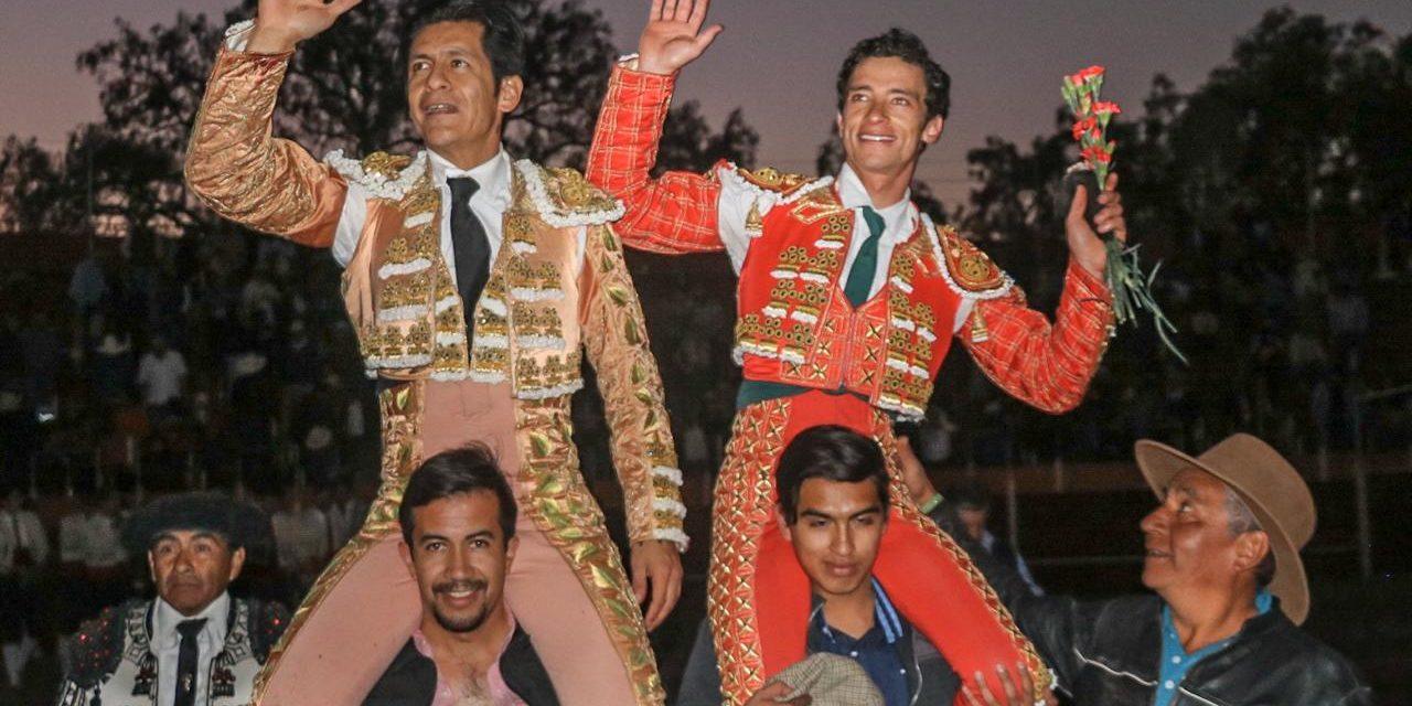 Salieron a hombros «El Zapata» y Mendoza