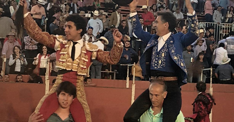 Hermoso de Mendoza y Valadez triunfan en La Barca