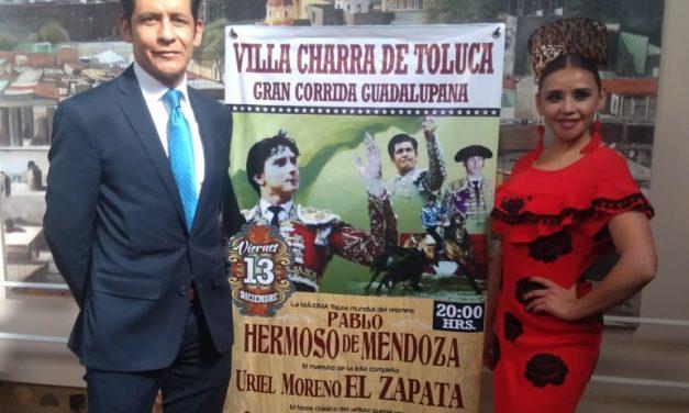 Ratifican cartel para La Villa Charra de Toluca